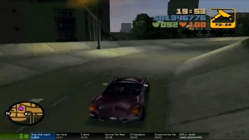 Grand Theft Auto 3_ Speedrun Fails