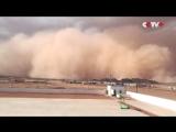 1619 Китай. Песчаная буря. Север. 24 июня 2018.