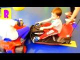 МАШИНКИ мультики для детей про МАШИНКИ CARS cartoons Катаемся на машинке Ривьера HappyRoma