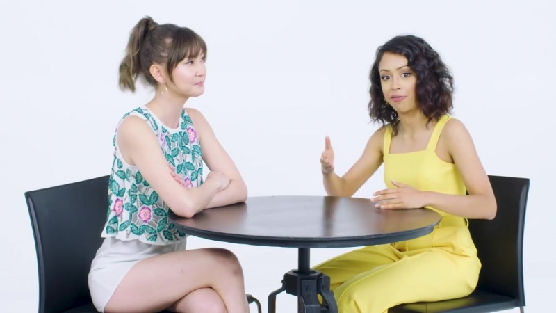 Liza Koshy Competes in a Compliment Battle With Kimiko Glenn _ Teen Vogue