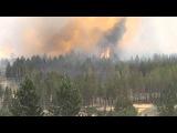 Лесной пожар в пригороде Улан-Удэ. 11/06/13