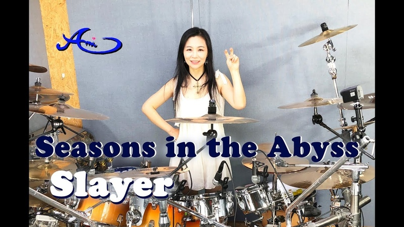[New] Slayer - Seasons in the Abyss drum cover by Ami Kim (61)