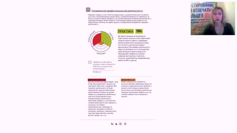 Отчет Дуги Направления профессиональной деятельности