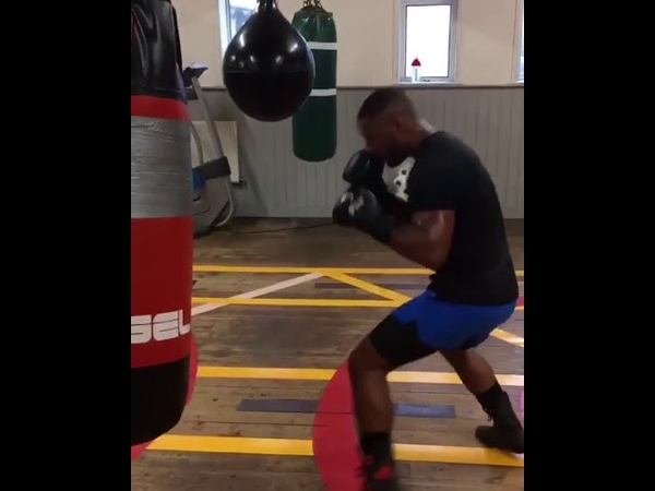 KELL BROOK IN THE GYM PREPARING FOR AMIR KHAN FIGHT!