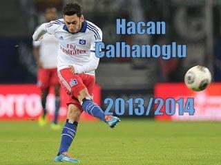 Hakan Calhanoglu | SV Hamburg | 2013-2014 | Best Goals & Skills