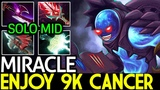 Miracle- Arc Warden Enjoy 9k Cancer Solo Mid 7.18 Dota 2