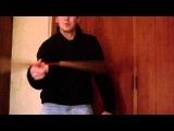 Nunchaku Ultra Slow Motion Finger Spin