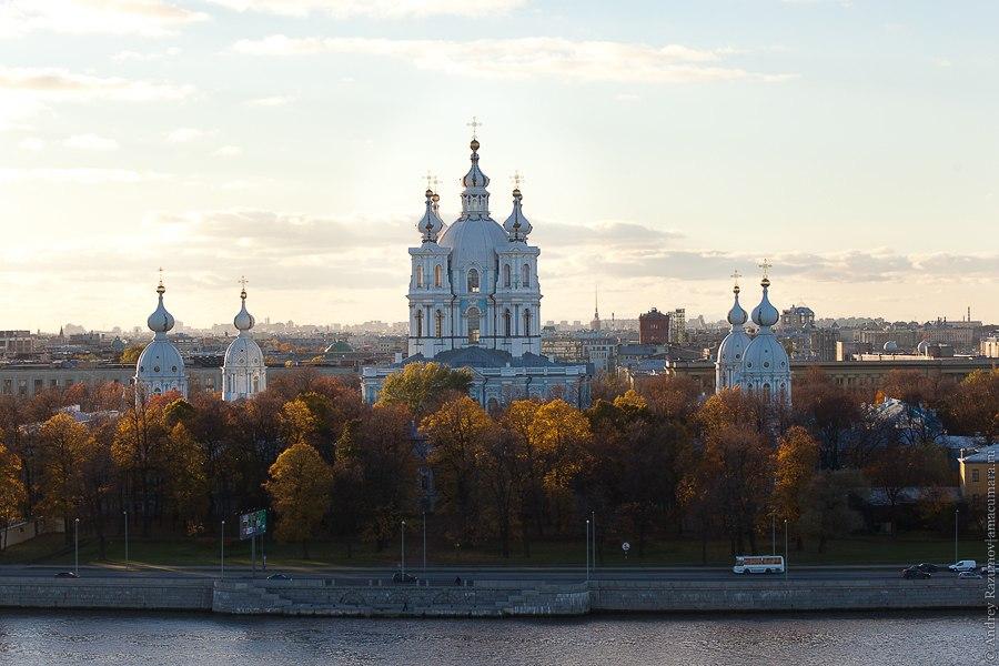 Санкт-Петербург Охта Смольный собор