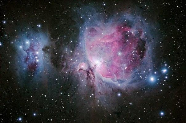 La nebulosidad del Orion (M42).