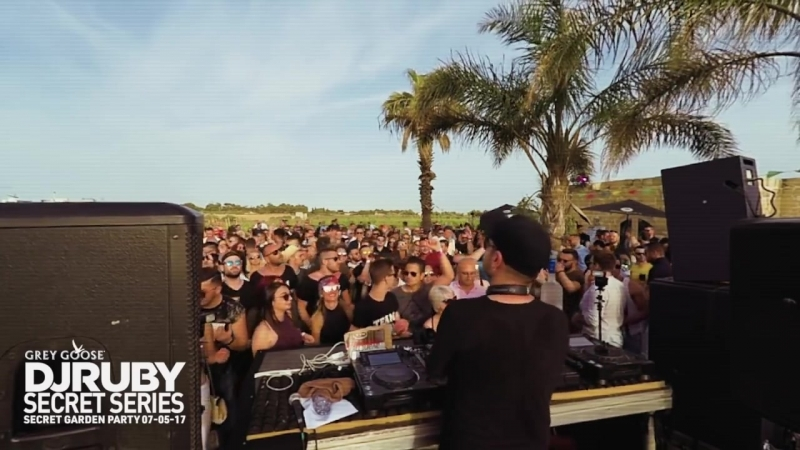 DJ Ruby - Live Video Set at Secret Garden Party, Attard Malta - 07 May 2017