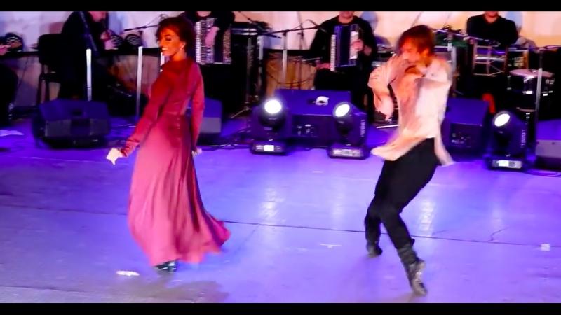 ансамбль Сухишвили на Art-Gene - танец Тамаши 13.07.2018