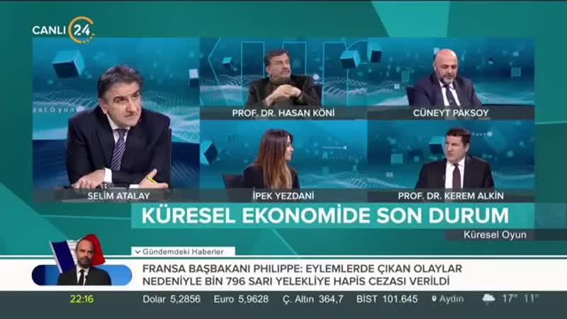 Selim Atalay ile Küresel Oyun (13.02.2019)