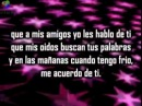 Y Que Me Pasa - MICKEY TAVERAS - con letra - salsa romantica