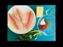 тилапия в панировке с сыром и паприкой