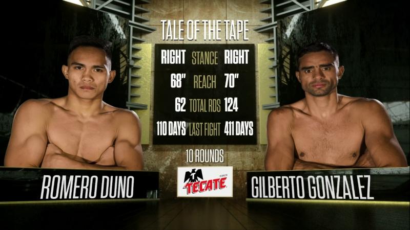 Romero DUNO vs Gilberto GONZALEZ (HD 1080)