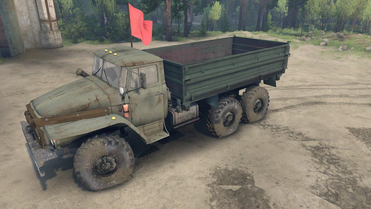 Урал-4320-01 Доработанный. для Spintires - Скриншот 3
