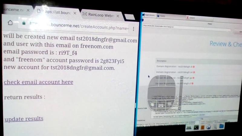 на планшете с правой стороны программой ripple pro мониторю поведение на сервере работу бота по созданию и регистрации сайтов на хостинг провайдере с обходом Google ReCaptcha » Freewka.com - Смотреть онлайн в хорощем качестве