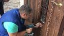 Монтаж МДФ накладок на входную дверь наш сайт : замена-установка-ремонт-замков.рф