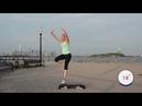 Statue of Liberty Coast To Coast Step shortened version Aerobics at Home Cardio Workout