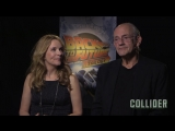 USA Today Lea Thompson &amp Christopher Lloyd On Back to the Future, Eric Stoltz &amp Robert Zemeckis