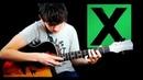 Ed Sheeran Bloodstream Fingerstyle Guitar Cover