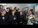 180406 PENTAGON & OH MY GIRL Comeback Interview @ Music Bank