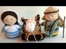 Presepe Amigurumi Tutorial (Giuseppe) Parte 1 - Nativity Crochet - Pesebre Crochet