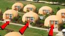 Японцы строят дома за 2 часа, и они способны простоять 300 лет! Купольные дома из пенопласта!