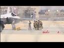 F 35 США делает экстренную посадку в Фресно