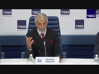 Первая пресс-конференция нового руководства МХАТ им. М. Горького