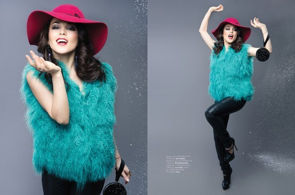 Зима отступает, а мы так и не показали модную съёмку Сати  Казановой для нашего зимнего выпуска Lamoda magazine. ...