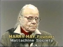 Vito Russo interviews Harry Hay and Barbara Gittings (1 of 2) (1983)