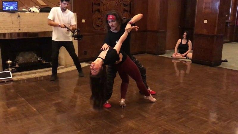 Ry'el ZenZouk Jessica Lamdon - LA Zouk Festival 2018 - 5/5/2018