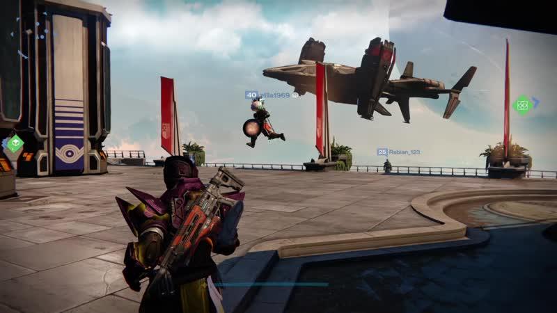 Destiny levitation bug