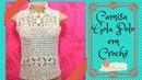 Camisa Gola Polo em crochê - 2ª parte - Tutorial DIY