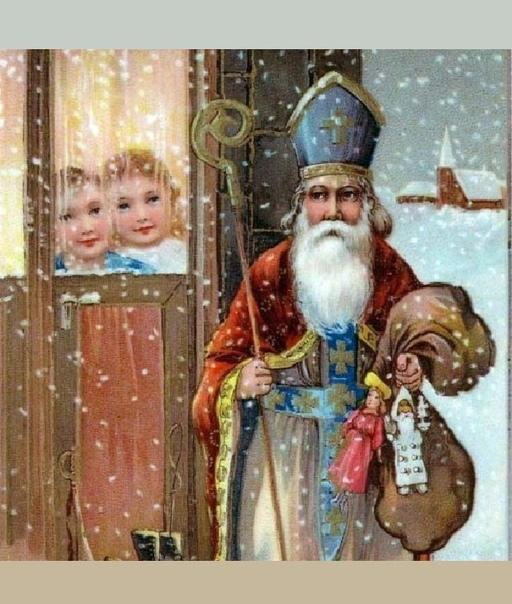 Истории появления Санта-Клаусов разных стран мира.