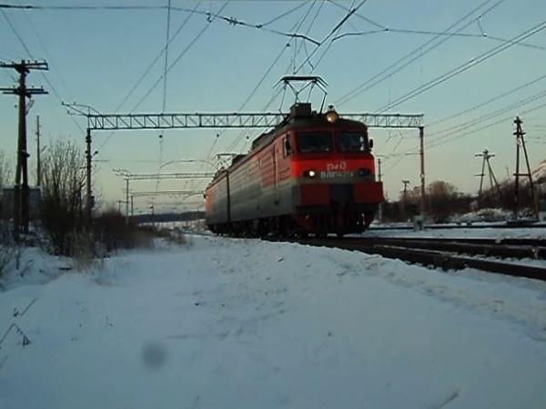 ВЛ11М-421 следует резервом по станции Алапаевск