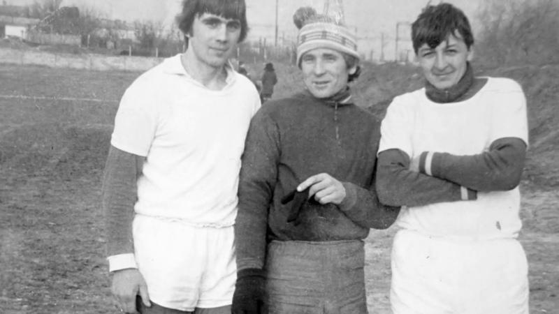 Немного истории футбола посёлка Гвардейское. Крым. Фотоальбом И.М. Гурина. Восьмидесятые