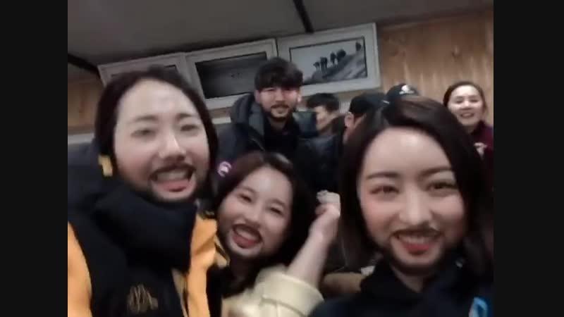 181221 Инстаграм актрисы Хон Суа (sooah.hong) - Хэсон