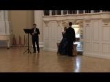 6 сентября 2018 года, органно-вокальный концерт Таврическом дворце. Пётр ЗАХАРОВ (баритон), Ирина РОЗАНОВА (орган), Сергей ХРИС