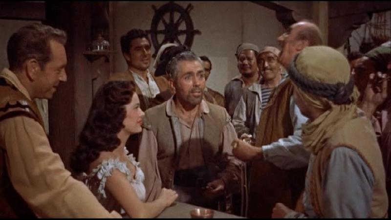 Пираты Триполи (1955). США.