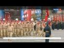 По Красной площади прошли боевые роботы.