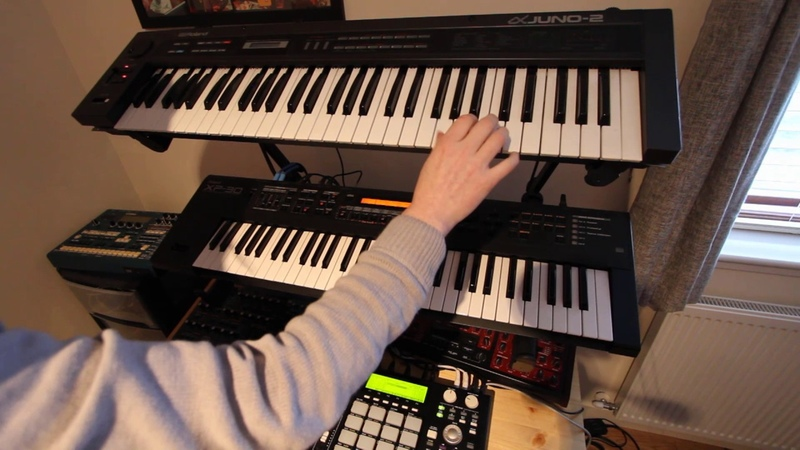 Roland Juno 2 - Rave Machine - Hoovers, Chord Memory More