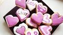Печенье сердечки, удиви вторую половинку!