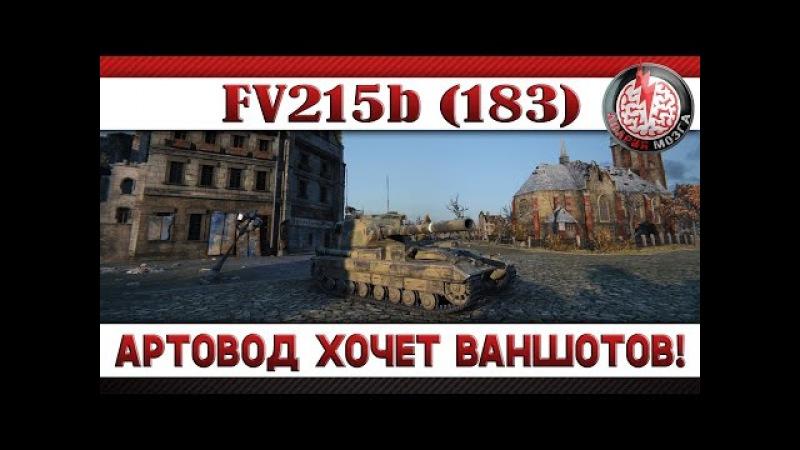 АРТОВОД ХОЧЕТ ВАНШОТОВ! FV215b (183)