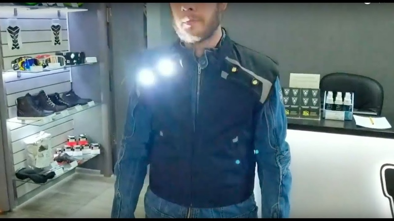 Жилет со стробоскопами OSA POLICE