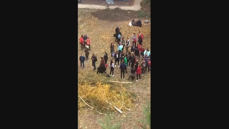 СМИ- семиклассница из Балакова сняла побои после конфликта у школы