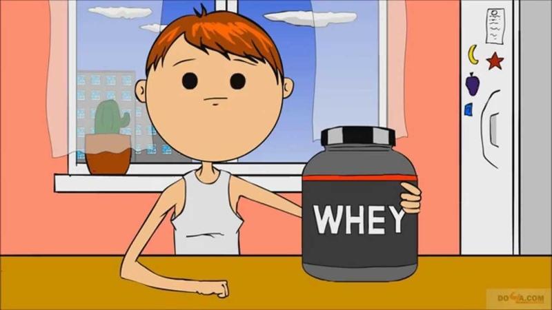 А сколько я наберу с банки протеина