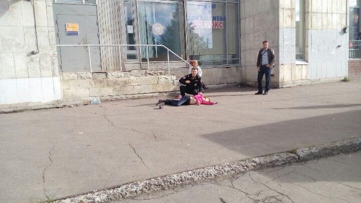 Девушка выжила после падения с6 этажа