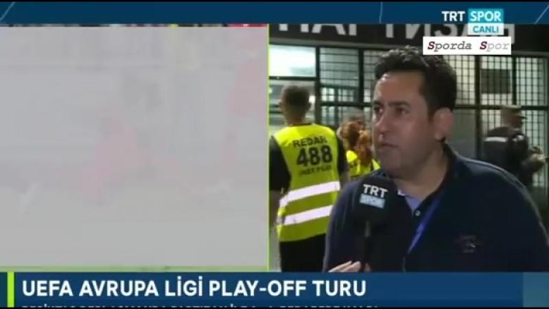 """Partizan - Beşiktaş 1-1 Maç Sonu"""" Fatih Doğan """" Yorumları"""